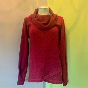 •Ideology• Soft Cowl Neck Sweatshirt